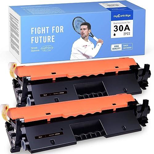 popular myCartridge Compatible Toner Cartridge Replacement for HP 2021 30A CF230A Work for Laserjet Pro MFP M227fdw M227fdn M203dw new arrival M203dn M203d M227sdn Printer (2 Black) sale