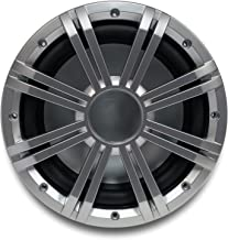 """Kicker 10"""" 4-ohm Marine Free Air Subwoofer with Included Silver Grille."""