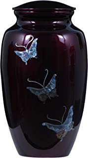 UrnsDirect2U Butterfly Tranquility Adult Urn