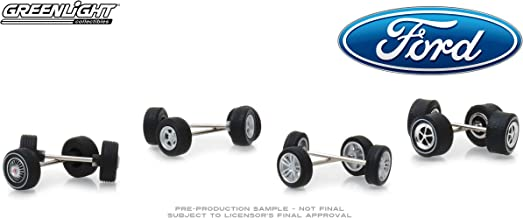 Wheel and Tire Multipack Set of 24 Pieces Ford Hobby Exclusive 1/64 by Greenlight 13166