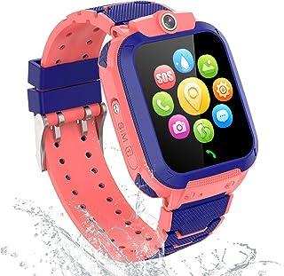 comprar comparacion GPS Reloj Inteligente Niña Impermeable - Smartwatch Niños Localizador GPS Niños, Pulsera Inteligente Reloj Inteligente Niñ...