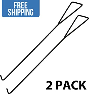 Universal Dock Hook Dolly Tow Hook — 2 Pack - Shippers Supplies