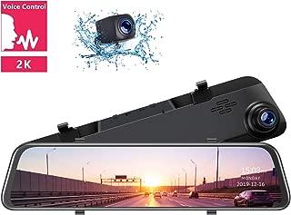 TOGUARD 2K Mirror Dash Cam 12