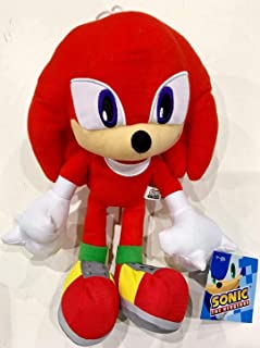 Sega Sonic The Hedgehog Knuckles Red Stuffed Plush Doll Character Toy 12
