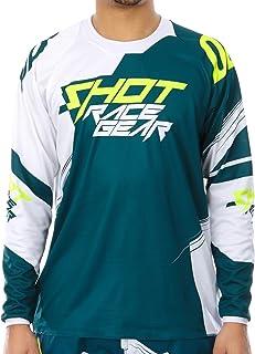 SHOT Maillot Motocross 2018 Devo Alert N/éon Vert Noir