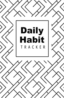 Daily Habit Tracker: Journal To Achieve Your Dreams & Goals By Tracking Habits & Setting Priorities: 52 Weeks of Goal Gett...
