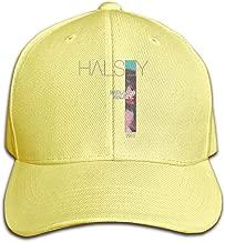 Vixerunt Hip Hop Baseball Cap,Halsey-Badlands Adjustable Snapbacks Plain Sun Hats Black