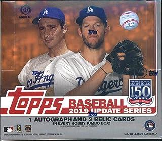 2019 Topps Update MLB Baseball JUMBO box (10 pks/bx)