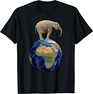 Elephant Conservation Lover Planet Earth Day Shirt Gift