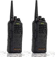 RADTEL RT-67 UHF 400-470MHz Waterproof Business Handheld Two Way Radio, IP67 Professional Submersible Walkie Talkie for Kids Adults Outdoor CS Hiking Hunting Travelling Airsoft(1 Pair)