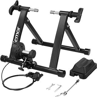 Femor Rodillo Bicicleta, Rodillo Ciclismo Plegable, Rodillo