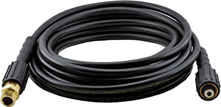 Powerwasher 80011 1/4-Inch by 25-Foot Cold Water Pressure Washer Replacement/Extension Hose