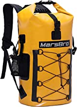 MarsBro Waterproof Dry Backpack Dry Bag Kayaking, Canoeing, Floating, River Tracing, Sailing 1000D PVC 35L / 50L Waterproof Phone Pouch