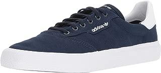 adidas Originals 3MC Skate Shoe, Collegiate Navy/White, 12 M US