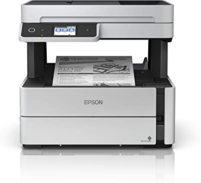 Epson EcoTank  Wireless Monochrome Supertank Printer with Ethernet PLUS 2 Years of Unlimited Ink