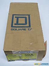 NEW SQUARE D H361DS FUSIBLE STAINLESS 30A AMP 600V 3P DISCONNECT SWITCH B284523