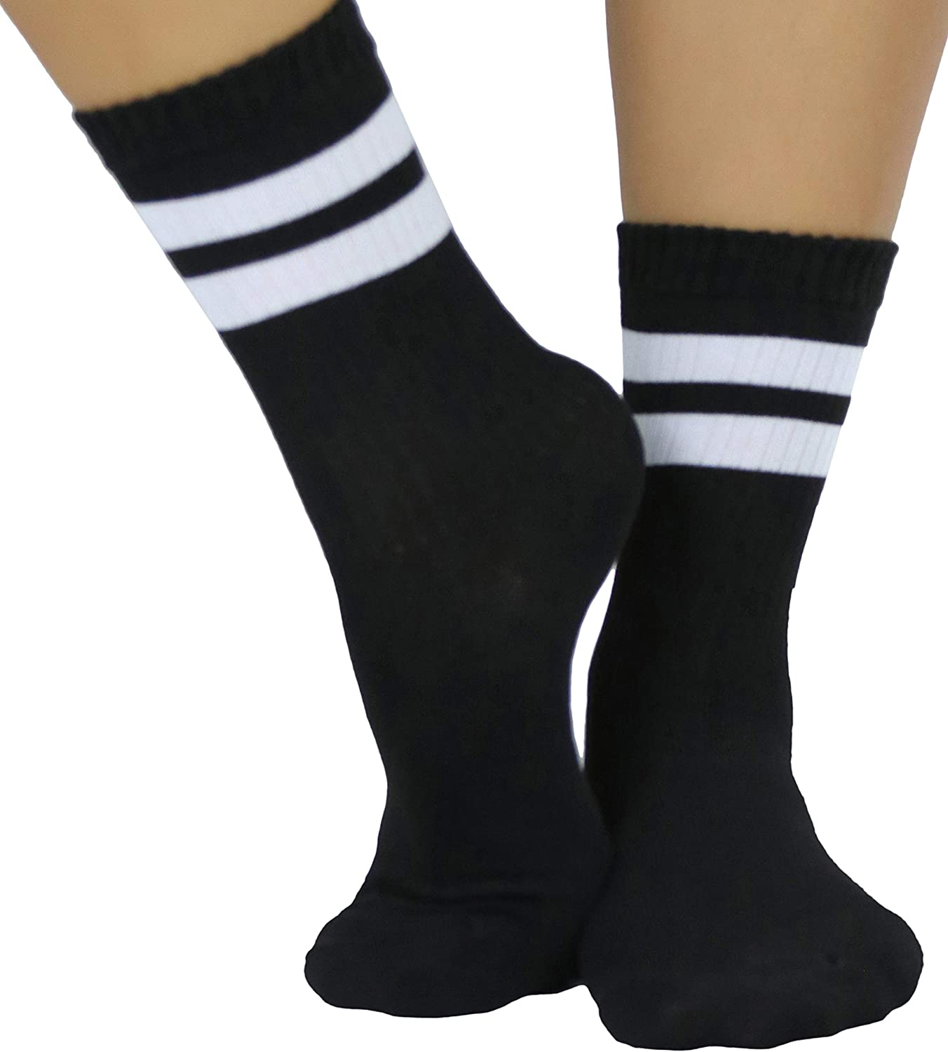 ToBeInStyle Women's Popular overseas Throwback Ankle Athletic online shopping Sock