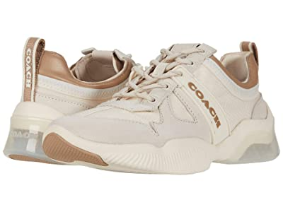 COACH CitySole Runner (Chalk/Taupe Mixed Material) Women