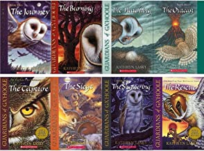 8 Books: Guardians of Ga'hoole Series Set - The Journey, The Rescue, The Siege, The Shattering, The Burning (Guardians of Ga'hoole Set Series Collection)