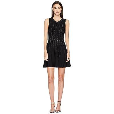 ZAC Zac Posen Eugenie Sweater Dress (Black/White) Women