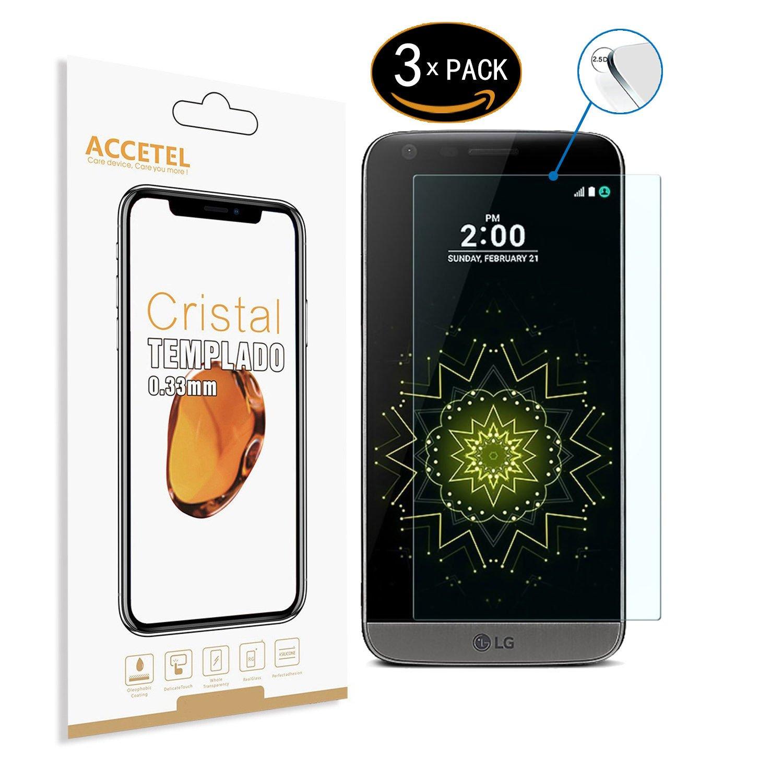 RE3O Protector de Pantalla Compatible con LG G5/G5 SE/G5 Lite ...