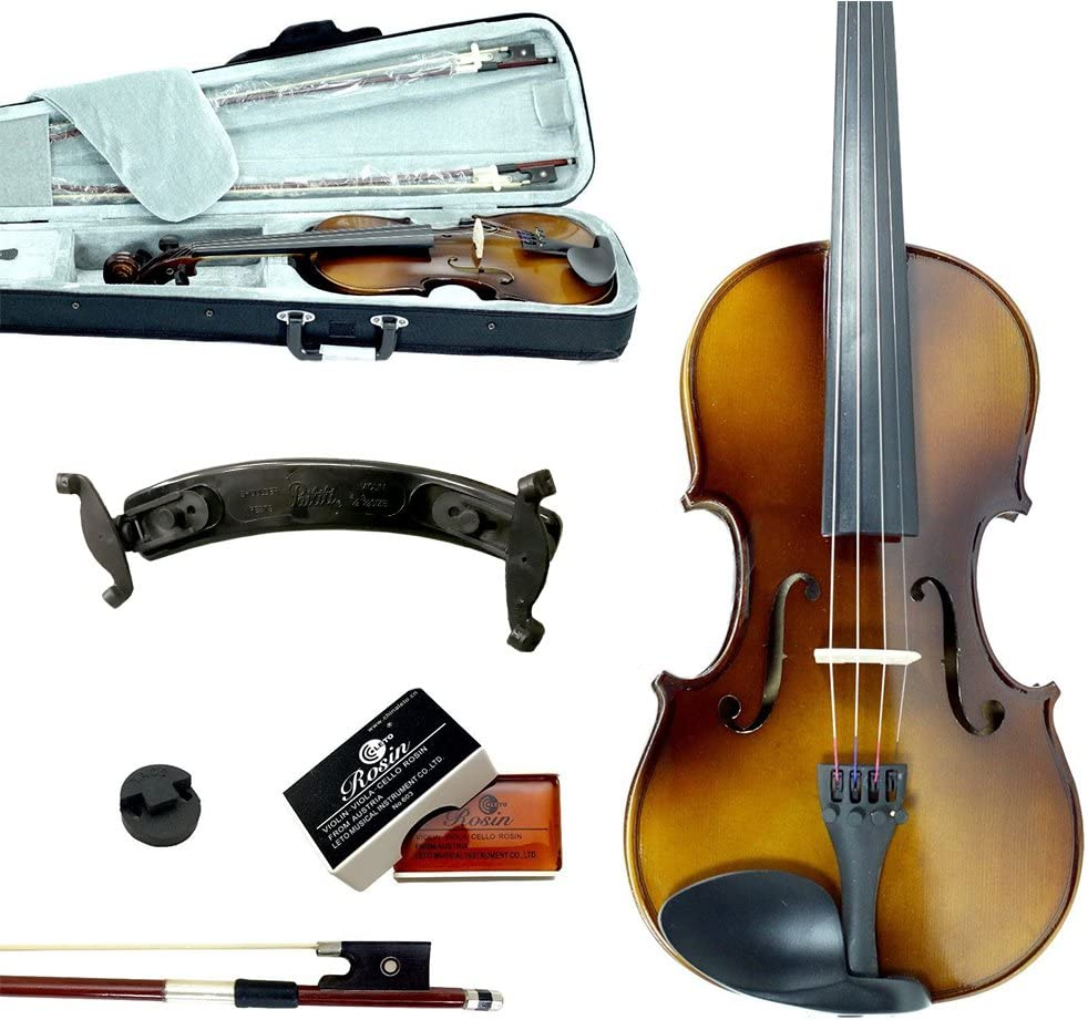 Sky Lowest price challenge Guarantee Sound 4 Under blast sales Size Beginner Fiddle Violin Outf Student