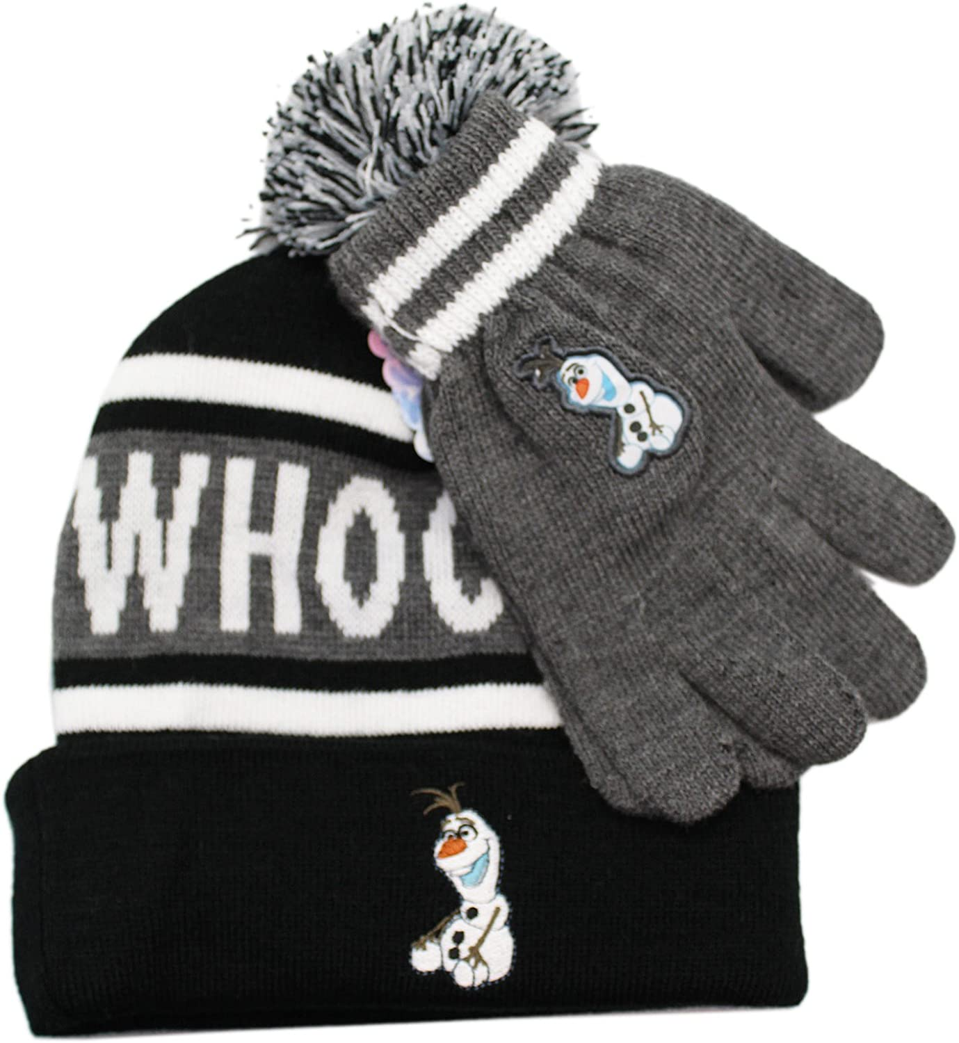 Disney's Frozen Olaf Popular Popular brand in the world products Whoo Headrush Hatset and Beanie Gloves