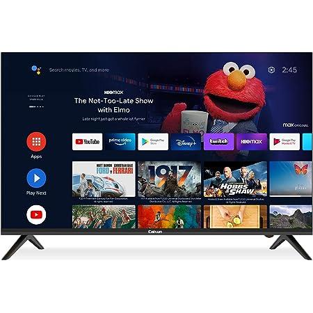 Caixun Android 9.0 Smart TV EC43S1A, 43 Pouces,108cm 4K Téléviseur(Prime Video,Netflix,Youtube,Google Assistant,Google Play Store) HDR, Triple Tuner,Bluetooth
