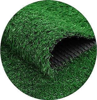 YNFNGX Artificial Turf Carpet 20mm High Garden Carpet Door Mat Rubber Drain Hole, Terrace Encryption Fake Lawn Outdoor Dec...