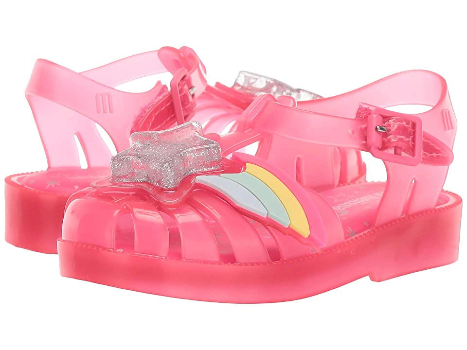 Mini Melissa Mini Possession II (Toddler) (Pink Happy) Girls Shoes