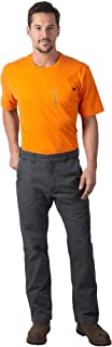 Men's Kick It Vintage Stonewashed Relaxed Fit Sanded Duck Work Pant