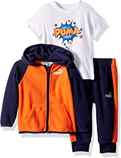 PUMA Baby-Boys Boys' Hoodie Set Hooded Sweatshirt