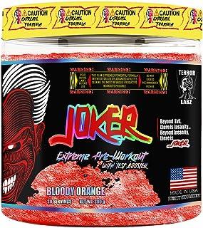 Terror Labz Joker, Extreme Pre-Workout (Bloody Orange)