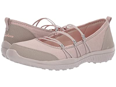 SKECHERS Be-Lite What-A-Twist (Taupe) Women