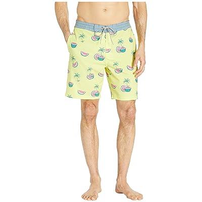 Rip Curl Melons Layday Boardshorts (Yellow) Men