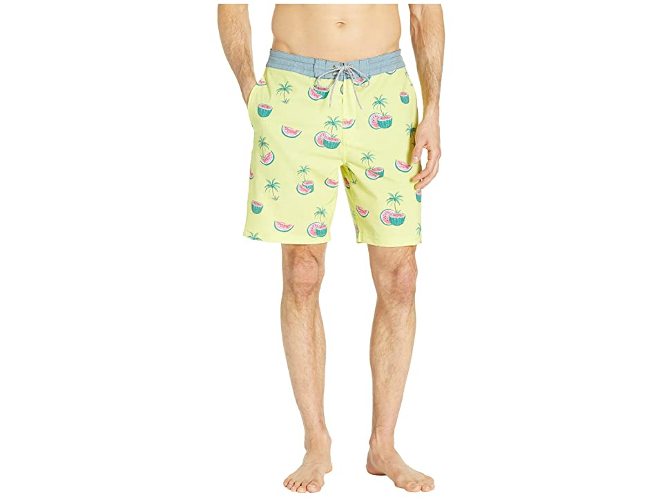 Rip Curl Melons Layday Boardshorts (Yellow) Men