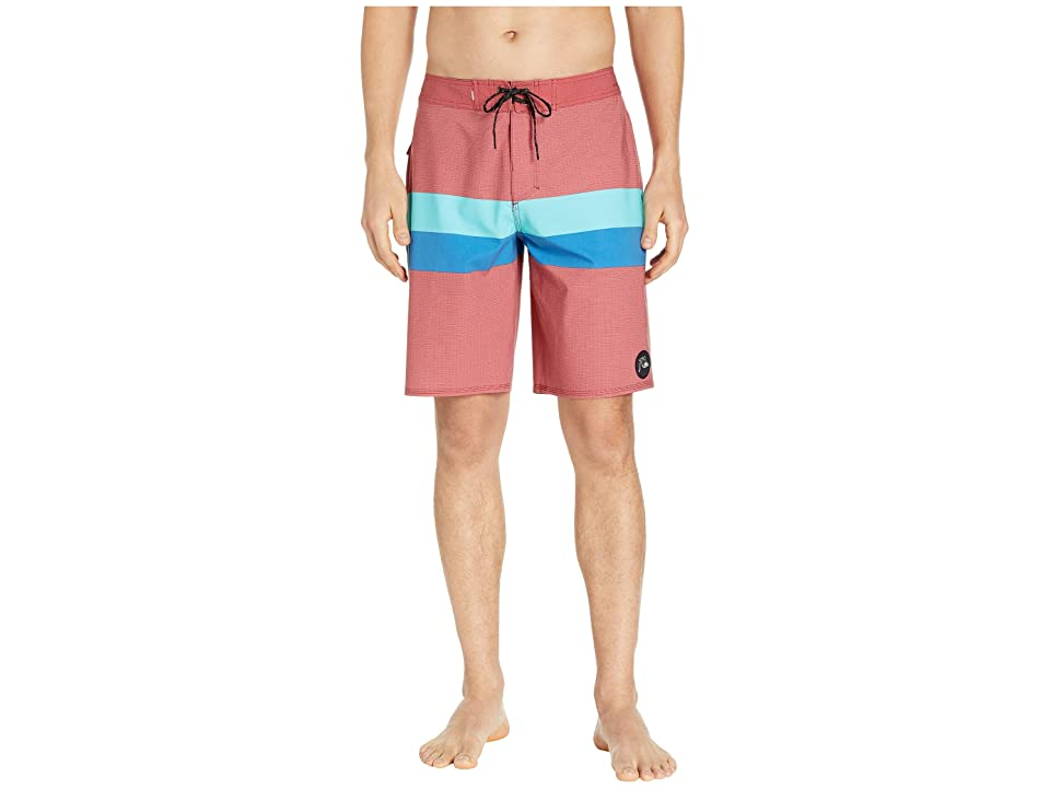 Quiksilver Highline Seasons 20 Boardshorts (Brick Red) Men
