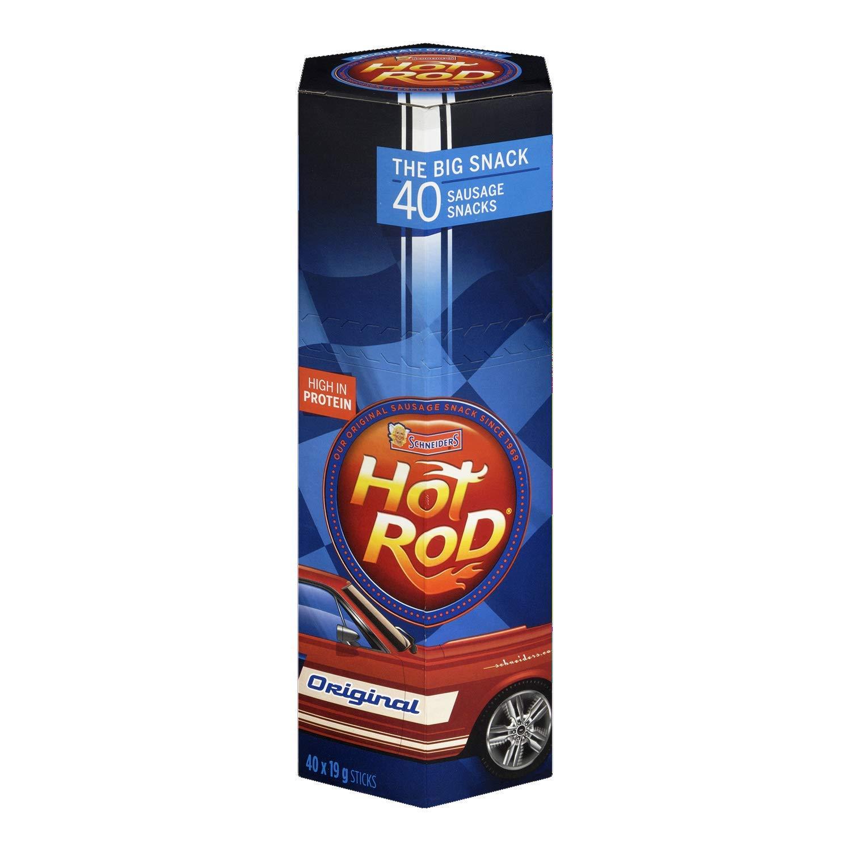Schneiders Super Hot Superlatite Rod Sausage Original Co Ranking TOP11 Snacks Flavour 40