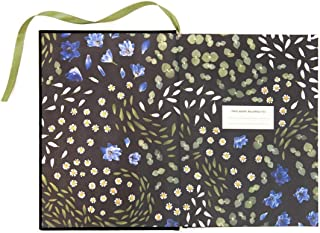 Ohh Deer Floral Primordia A5 Cloth Bound Notebook