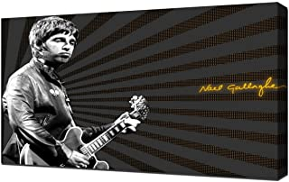 Lilarama USA Oasis Noel Gallagher 2 - Canvas Art Print - Wall Art - Canvas Wrap