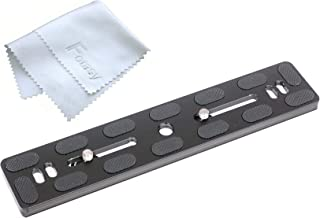 Fotasy 200mm Arca Swiss Plate, 200mm QR Plate, 200mm Long Quick Release Plate fits Arca-Swiss Standard Clamp for Camera Tripod Ballhead