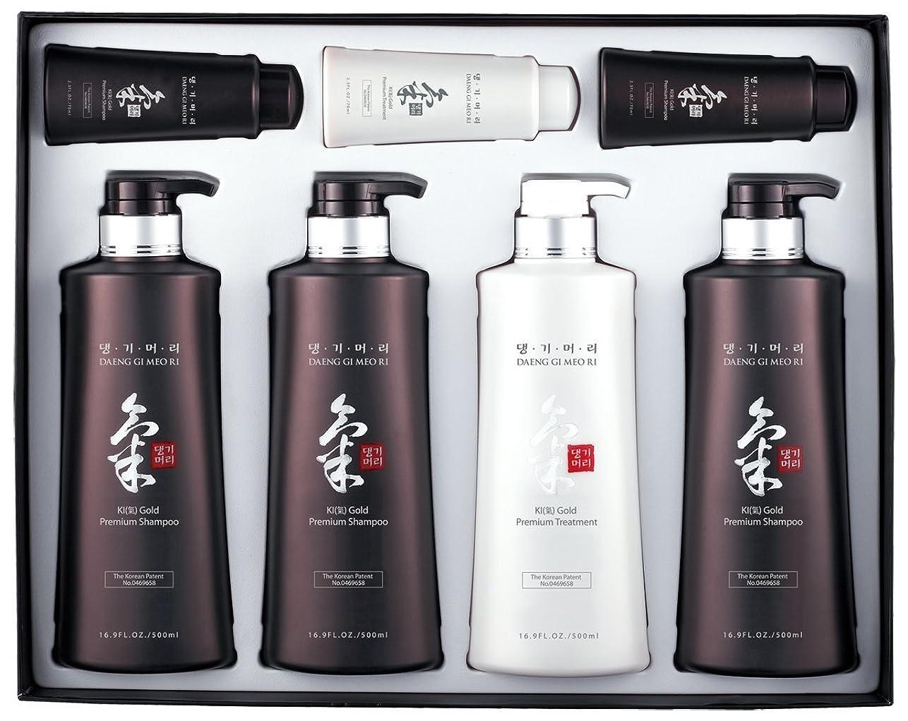 Doori Cosmetics, South Korea デーンGiのメオRiを(箱なし)のKiゴールドプレミアム特別ヘアケア4本セット