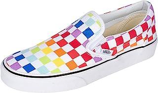 Unisex Slip On Rainbow Chex Skate Shoe Sneaker