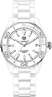 Tag Heuer Aquaracer Lady 300M 35mm White Ceramic Watch WAY1391.BH0717