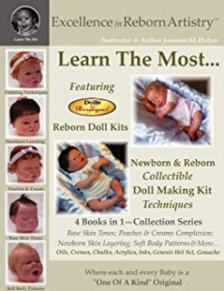 Learn the Most Reborn Coloring Techniques for Doll Kits + Soft Body Patterns in the Excellence in Reborn Artistry Series