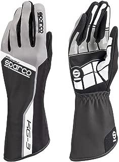 Sparco Track KG-3 Karting Gloves 002553 (Size: 9, Black)