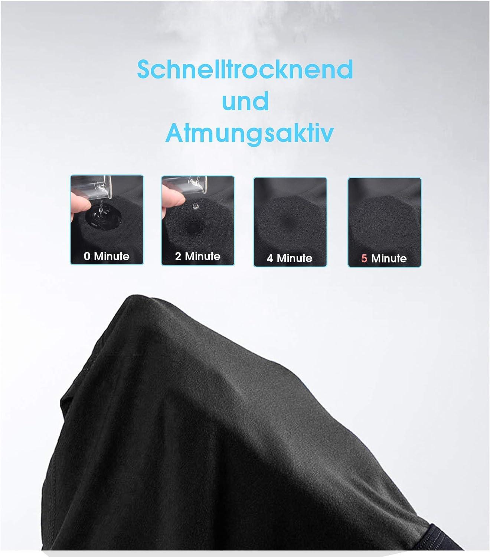 HOPLYNN Pack de 3 mallas de compresi/ón para hombre para correr ropa interior deportiva ropa interior funcional f/útbol de secado r/ápido