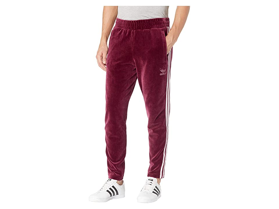 Adidas Originals Velour Bb Track Pants Maroon Men S Casual Pants Red Buy At The Price Of 51 32 In 6pm Com Imall Com