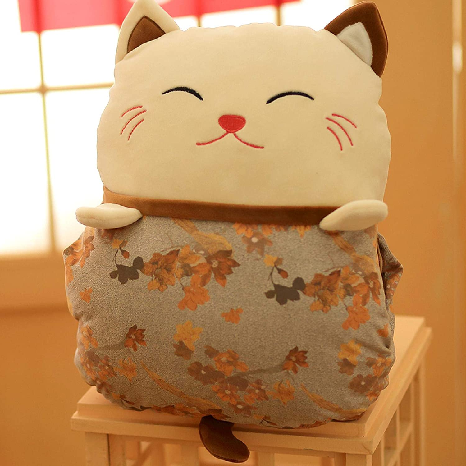 Lucky security Cat Decorative latest Pillows for Pill Couch Cute Plush