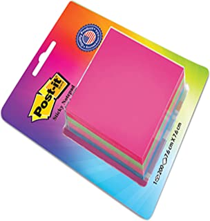 """Post-it Cube - 4 Color sticky Notes (4x50 sheets , 3"""" X 3"""")"""